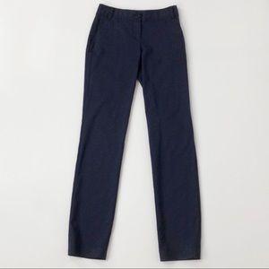 Tory Burch Wool Blend Navy Cropped Pants